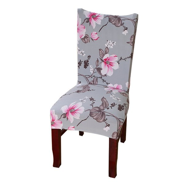 Dreamworld 1pc Chair Covers Spandex Brown Sliver Elastic Chair Covers American Style for Chairs Wedding Dinner 47 Blanket