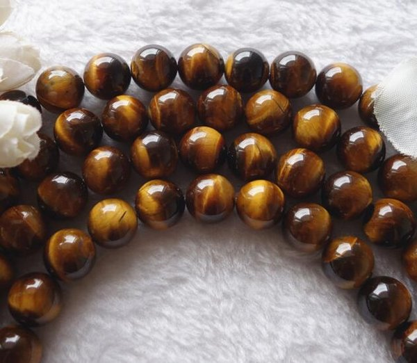 Natural Gemstone Tiger Eye stone beads with big hole size Charm Bead with Wholesale price by original factory