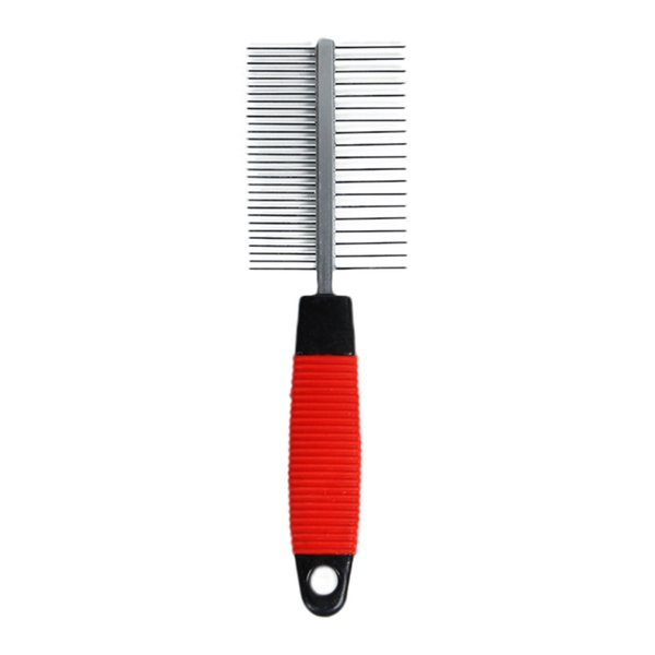 Trimmer Grooming 2 Sides Comb Pet Cat Dog Trimmer Grooming Comb Brush Anti-static Rake Hair Shedding Kill Flea For Pet Cat Dog