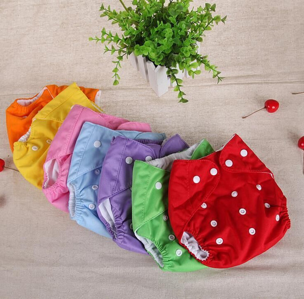 best selling Baby Cloth Nappy Nappies Washable Reusable Grid Cotton Training Pant Fraldas Winter Summer Version Diapers Mix 6 Pieces Wholesale