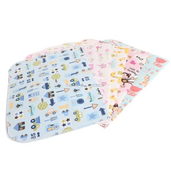 Matelas pour couches à langer Matelas à langer pour bébé, 3 couches épaisses réutilisables pour bébé, couche -B116