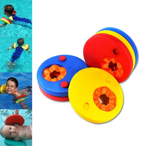 2017 Newest swimming ring Kid Swim Swimmer Discs EVA Foam Arm Bands Armbands Float For Swimming Float for Kids Children