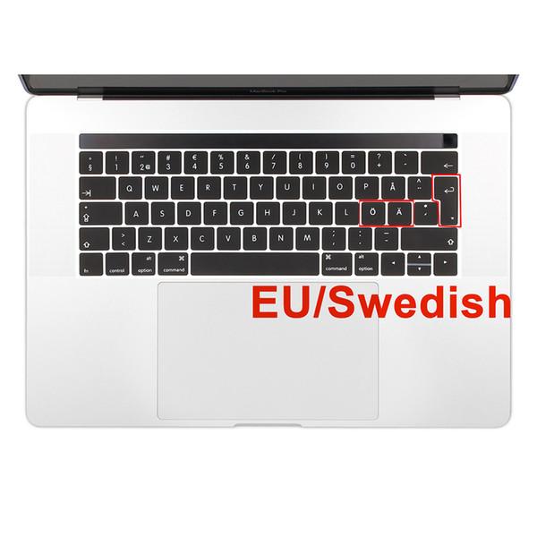 EU Geben Sie Schwedisch Sprache Silikon Keyboard Cover Skin für neue Macbook Pro 13 15 Zoll A1706 A1707 Released 2016 2017
