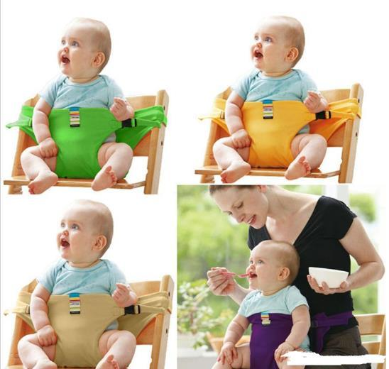 Wholesale-Baby Chair Portable Infant Seat Product Dining Lunch Chair/Seat Safety Belt Feeding High Chair Harness Baby chair seat