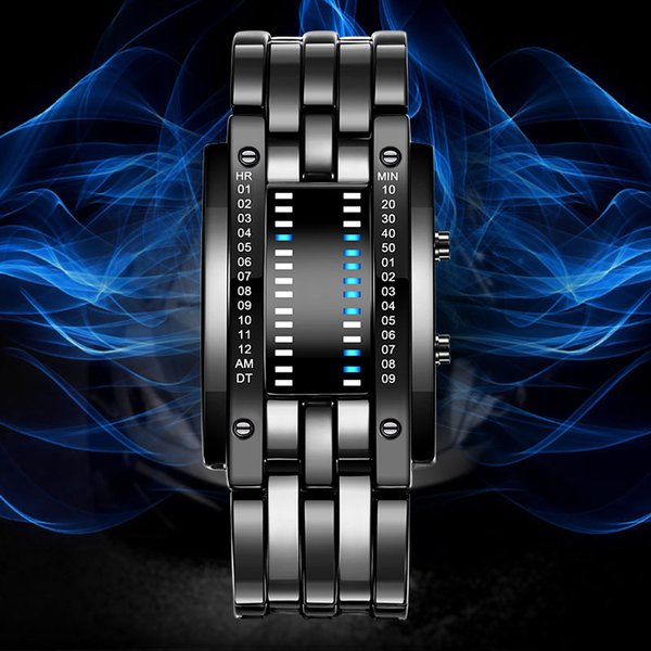2ec18bd2535 X BOAMIGO Marca Relógio Homens Relógios Digitais Criativo LEVOU Relógios À  Prova D  Água Banda