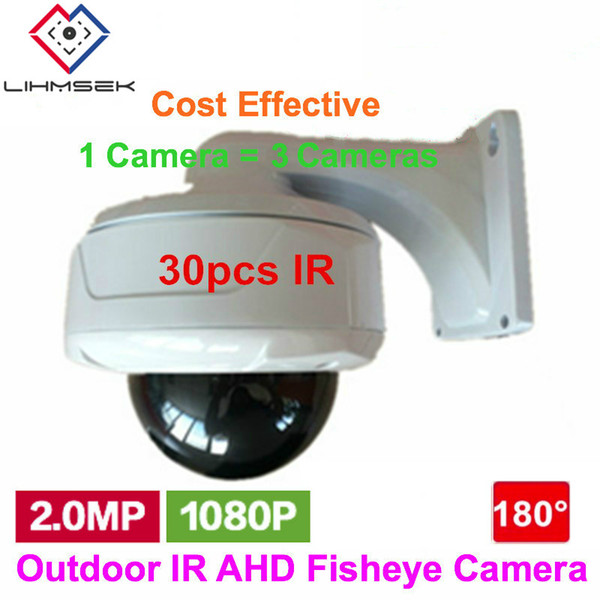 Full HD 1080P AHD Wided CCTV Security Camera 180 Degree night vision Fisheye