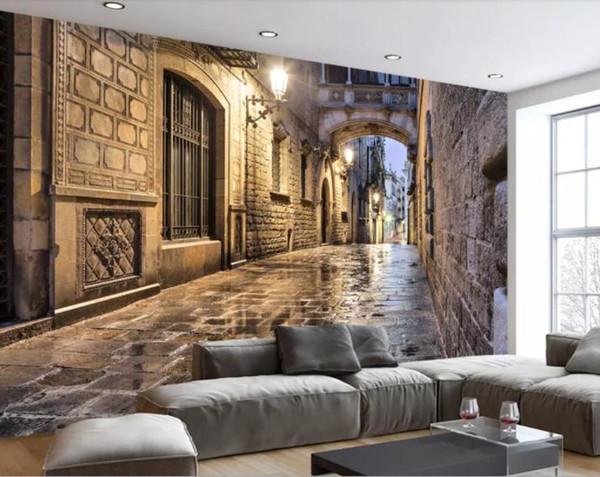 Photo Custom 3d Stereoscopic Wallpaper Creative 3d Wallpaper Walls Decoration Home 3d Mural Wallpaper High Resolution Widescreen Wallpapers High