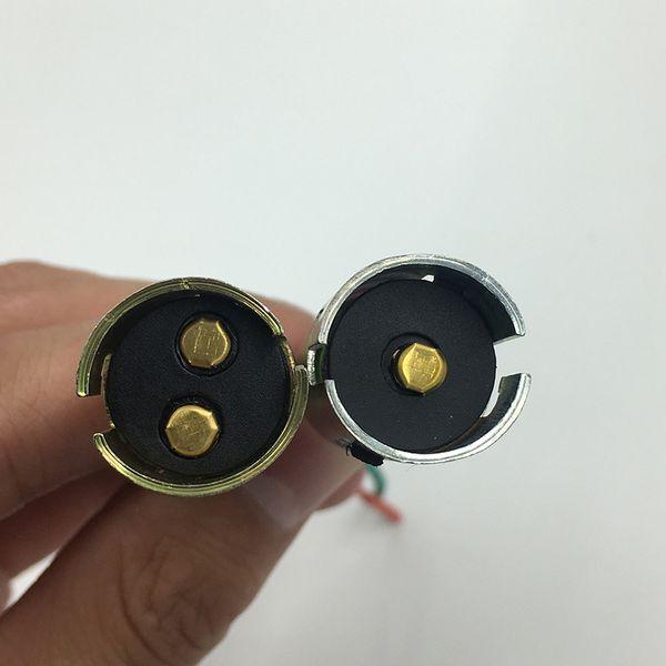 YSY 10pcs BA15S BA15D S25 single bulb socket Halogen headlamp pigtail connector holder 10cm wire 1156 1157 plug