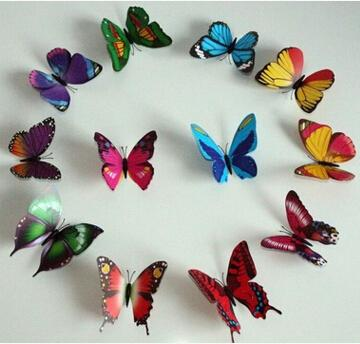 92 Styles Women Flower Brooches Christmas Brooch Pins 3D Butterfly Decorations Cloth Simulation Butterfly Pins Brooch Butterfly Pins 100 pcs