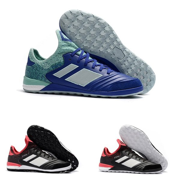 2018 erkekler futbol cleats Copa Tango 18.1 TF IC ucuz kapalı futbol ayakkabıları orijinal Copa 18.1 futbol botları fırfır futsal ayakkabı