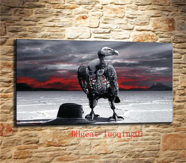 Hot Show Mime Western World , Canvas Pieces Home Decor HD Printed Modern Art Painting on Canvas (Unframed/Framed)