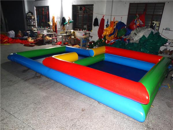 2017 top sale PVC sandbox inflatable sand pool on sale