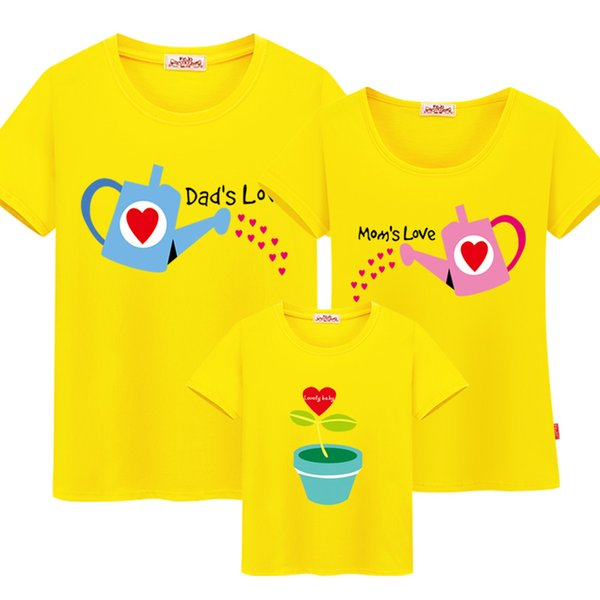 Mom and Daughter Matching Clothes Family Matching Clothes Cotton Family Matching Outfits Father Mother Son Family Look T-shirt