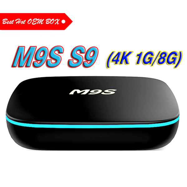 M9S S9 4K Android 7 1 TV Box Rockchip RK3229 1G/8G 4 USB 4K X 2K H 265 10  Bit 60fps WiFi Quad Core 1 5GHZ Media Player Tv Boxes Tv Box Sets From
