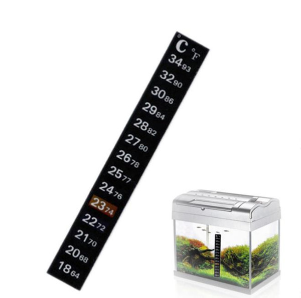 best selling Brewcraft Strip Thermometer Carboy Fermenter Homebrew Beer Tank Temperature Sticker Adhesive Sticky Scale Aquarium Fish 500pcs