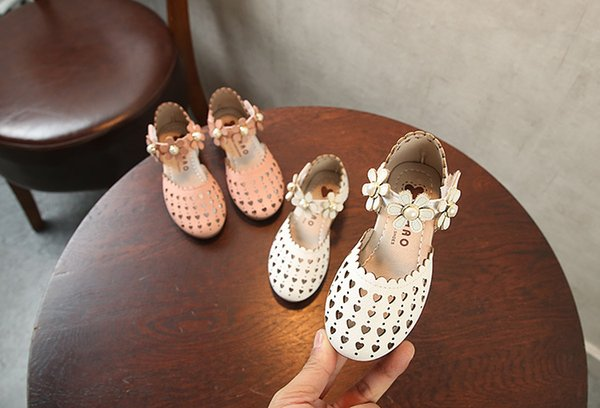 8d86e0479 2018 Children Princess Glitter Sandals Kids Girls Soft Shoes Square Low-heeled  Dress Party Shoes