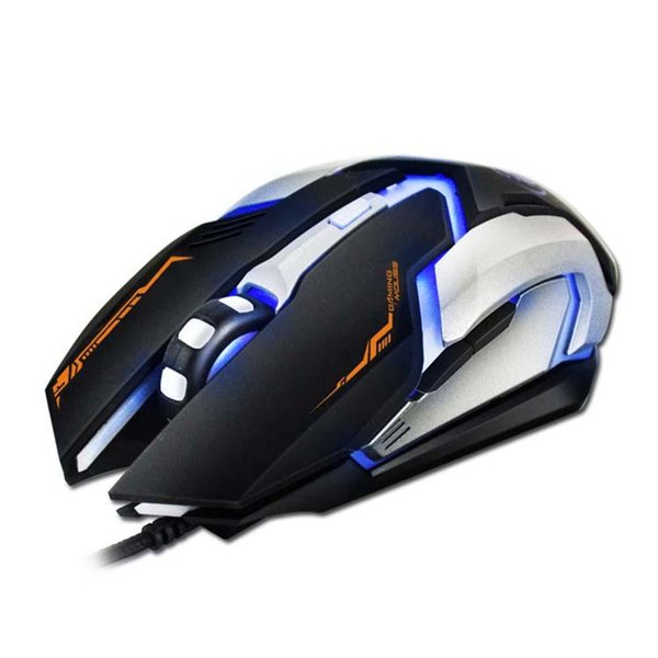 IMICE V6 Professional Wired Gaming Mouse 6 Button 2400 DPI LED Optical USB Computer Mouse Ratones Gamer V6 Juego Dropshipping