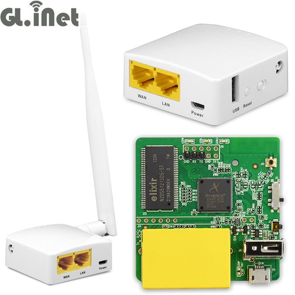 2019 GL AR150 AR9331 802 11n 150Mbps WiFi Wireless Router WiFi OPENWRT  Firmware External/Internal Antenna Support POE Module From Bestness, $42 8  |