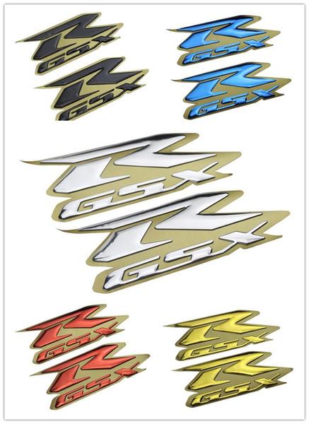 best selling Motorcycle 3d Emblem Stickers Decal Raise For Suzuki GSXR1000 GSXR750 GSXR600