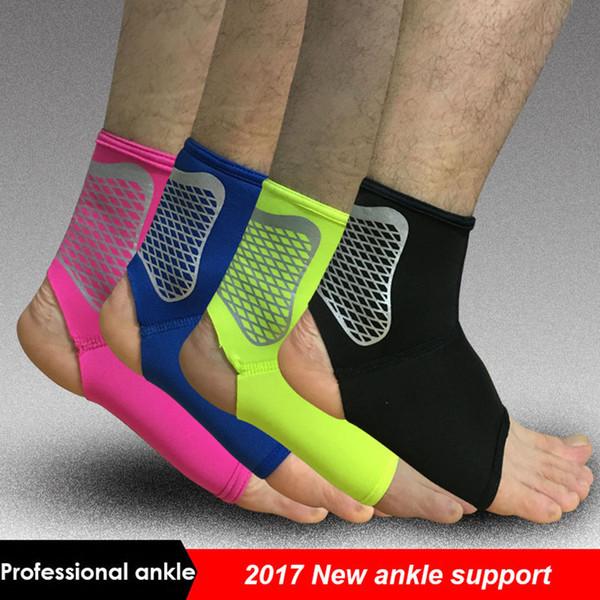 Supporto della caviglia di sport di 1PCS elastico alta proteggono la sicurezza dell'attrezzatura della caviglia di sport che corre supporto di sostegno di pallacanestro