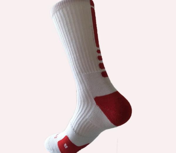 400pcs USA Professional Elite Basketball Socks Long Knee Athletic Sport Socks Men Fashion Compression Thermal Winter Socks wholesales