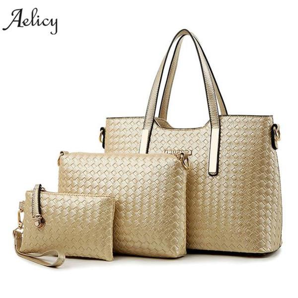 Aelicy Fashion Women Handbag PU Leather Women Bag Large Capacity Tote Bag Big Ladies Shoulder Bags Famous Brand Bolsas Feminina