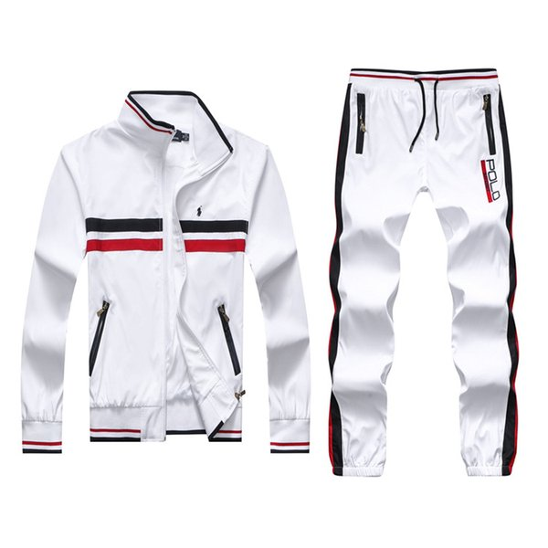 Wholesalemen \' ;S Hoodies And Sweatshirts Sportswear Man Polo Jacket Pants Jogging Jogger Sets Turtleneck Sports Tracksuits Sweat