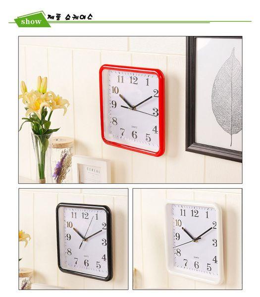 Haushalts Wand Dekor Uhr Moderner Entwurfs Digital Zeiger Wanduhr