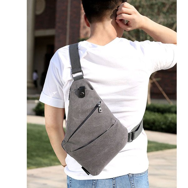 New Single Shoulder Bags for Men Waterproof Nylon Crossbody bags Male Messenger Bag Men Chest Pack Canvas Leisure Riding Pockets