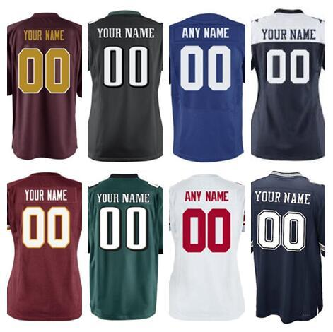 the best attitude 47fed 10146 2019 2019 Personalized Dallas Washington Eagles Redskins Cowboys Giants  American Football Jerseys Color Rush Jersey All Stitched Factory 6XL 7XL  From ...