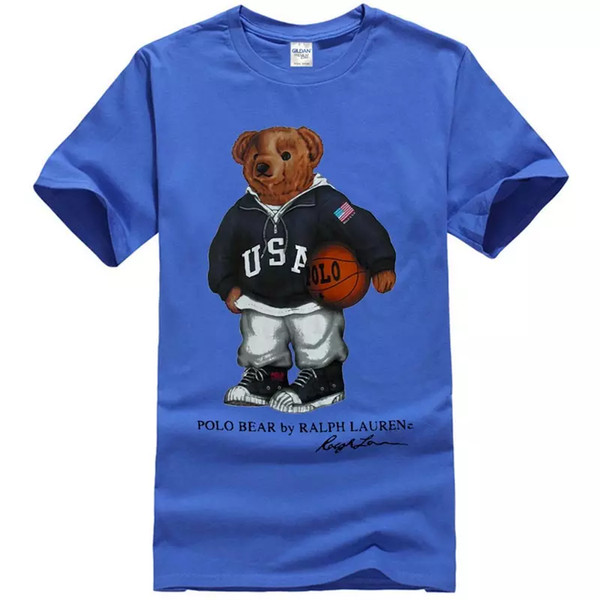 17b90c99d Vintage T Shirt 90'S POLO Bear Basketball Sport Reprint T Shirts ...