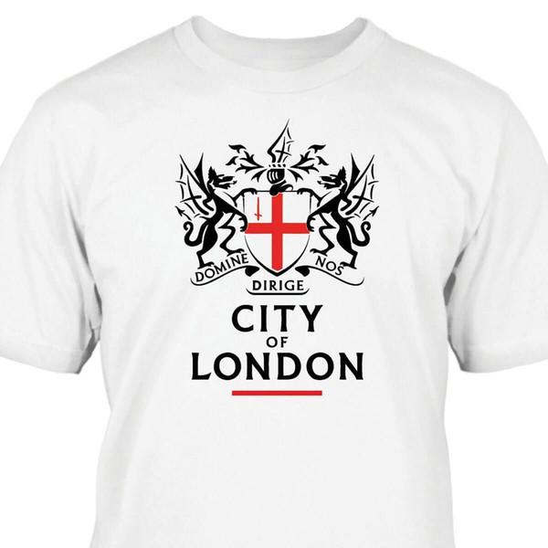 Londra şehri T-Shirt Kısa Kollu Artı Boyutu t-shirt renk jersey Baskı t gömlek