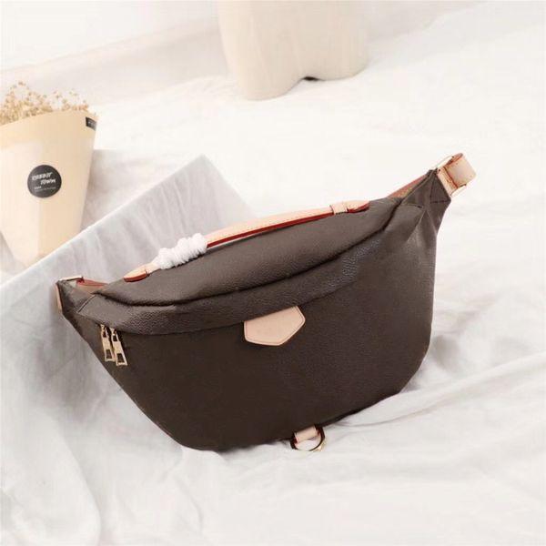 2018 Designer Newest Stlye Famous Bumbag Cross Body Shoulder Bag Autn Material Waist Bags Bum Unisex Waist Bags M43644 Free Shipping