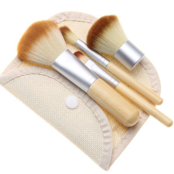 4Pcs bamboo brush