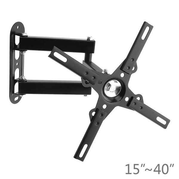 Universal Adjustable 15KG Cantilever Mount Stand Rotating TV Wall Bracket Holder for 15 - 40 Inch LED LCD Flat Panel Plasma TV