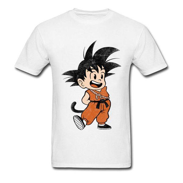 Dragon Ball T Shirt Classic Mascot T Shirt Men Cute Tops Son Goku Tshirt Anime Clothing Super Saiyan Family Tees