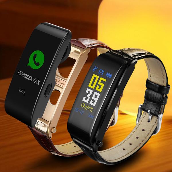 Y6 Tela Colorida Relógio Inteligente Sports Belt Pulseira Chamada Pedômetro Heart Rate Pedômetro Freqüência Cardíaca 2018