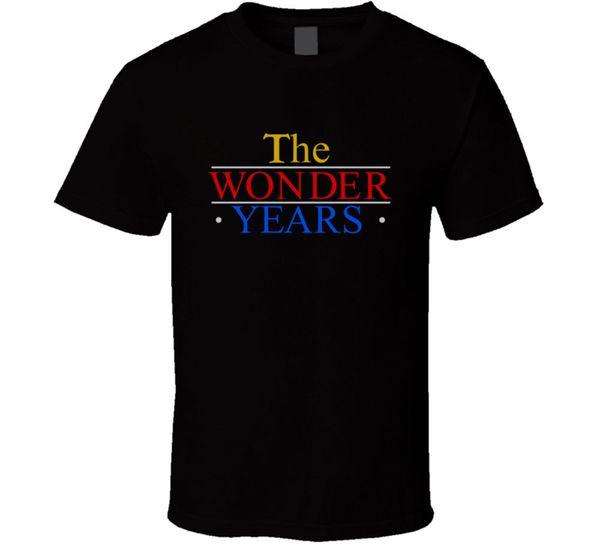 Les années merveilleuses Tv Show rétro T Shirt Hommes Black Tee Gift
