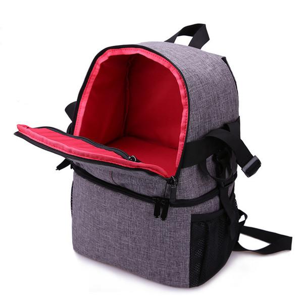 HEBA Hot Sale Photo Camera DSLR Video Waterprpof Oxford Fabric Soft Padded Shoulders Backpack SLR Bag Case for Canon Nikon Son