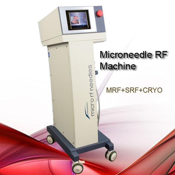 2018 mais recente máquina fracionária idade microneedle microneedle fracionada face rf acne cicatriz microneedle tratamento ultra-som para rugas
