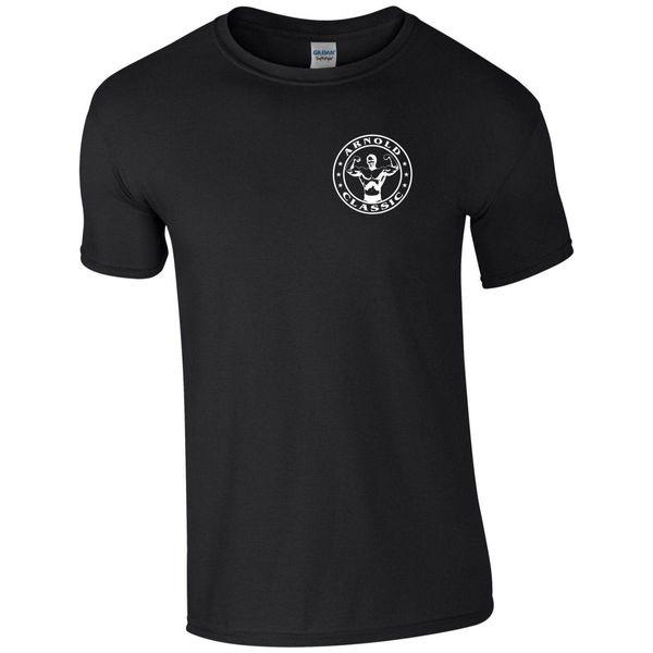 Arnold camiseta clásica bolsillo Fitness Gimnasio culturismo MMA entrenamiento regalo hombres Top