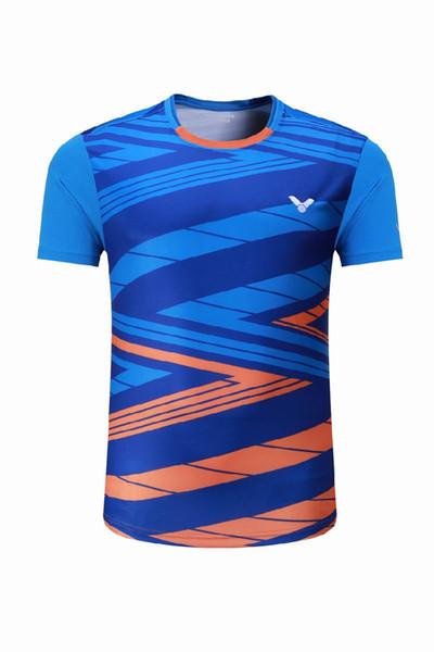New 2018 victor badminton shirts short-sleeved South Korean national team game jerseys men and women training sportswear,tennis t-shirt