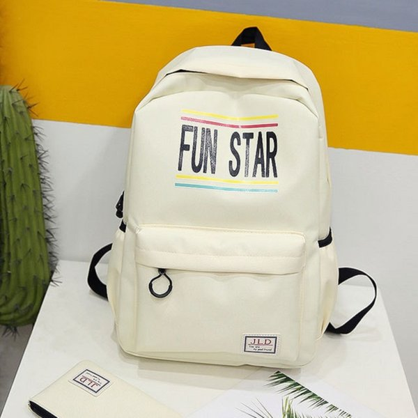 2018 New Canvas Women Backpack Waterproof Nylon Fashion 2set School Bags For Teenagers Female Rucksack shopping bags laptop bag Q-51