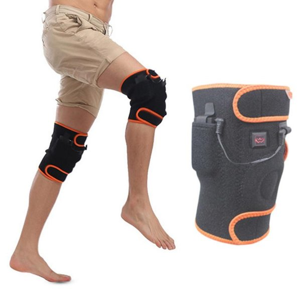 Hot Outdoor Dual-Use Thermostat Usb Electric Heating Warm Knee Pads Heating Charging 5 Files Controllable