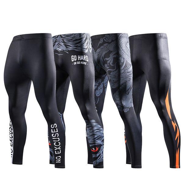 ZRCE 3D Prints Compression Pants Joggers Fitness Men's pants Hip hop Streetwear Men's Homme trousers