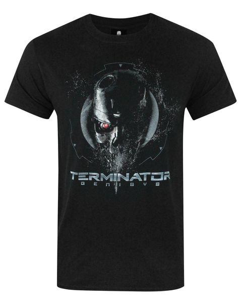 Uomo Top Tops 2018 Summer Fashion Nuovo Terminator Genisys Endoskeleton Maglietta da uomo Fashion Maglietta Uomo Abbigliamento