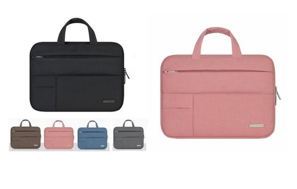 free shipping Men Women Portable Notebook Handbag Air Pro 11 12 13 14 15.6 Laptop Bag/Sleeve Case For Dell HP Macbook Xiaomi Surface pro 3 4