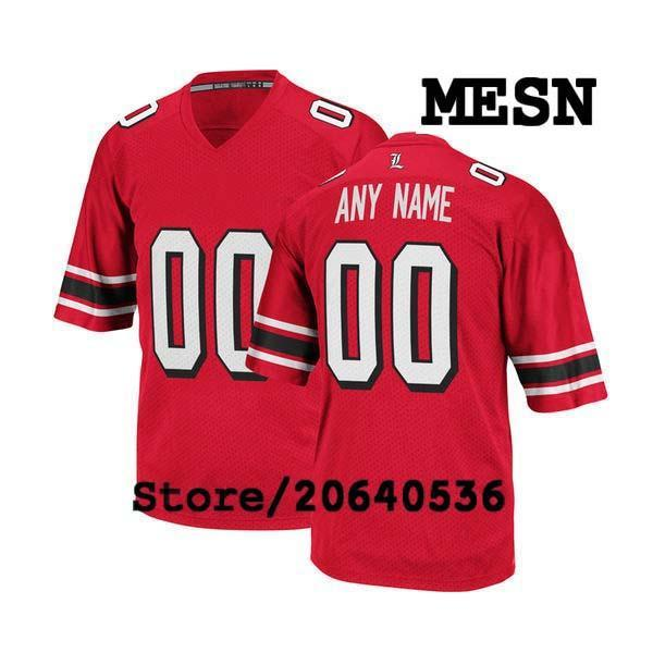 Cheap Custom Louisville Cardinals College jersey Mens Women Youth Kids Personalized Any number of any name Stitched White Football jerseys
