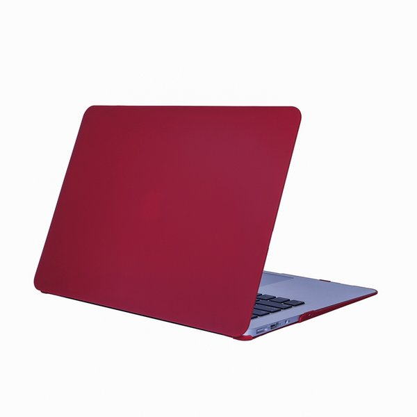 Free shipping Colorful Protect Wear resistant shockproof Matte shell case for Apple Laptop NoteBook PC Case 13.3 inch for Macbook Air