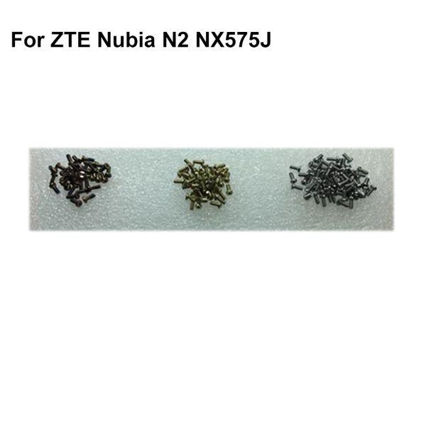 4PCS For ZTE Nubia N2 N 2 Buttom Dock Screws Housing Screw nail tack for Nubia N2 NX575J NX 575J Mobile Phones tested good